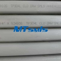 Quality ASTM A312 Stainless Steel Seamless Pipe TP304L Annealed Pickling for sale