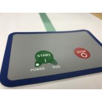 Buy cheap 3M Adhesive Waterproof Membrane Switch With 2 Embossed Buttons from wholesalers