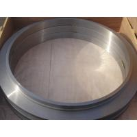 China Large Diameter Forging Steel Rings , Carbon Steel Rolled Ring Forging OD 300 - 1200mm , ISO 9001 - 2008 on sale