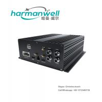 China H.264 Bus Car Security MDVR 4 Channel Car DVR Wifi / GPS 3G Embedded LINUX on sale