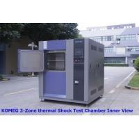 China Three - Slot Thermal Shock Test Chamber For Testing Chemical Changes Caused By Thermal Expansion And Contraction on sale