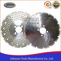 Quality Original 8 Inch Diamond Saw Blade For Cutting Marble or Granite Single Side Dots for sale