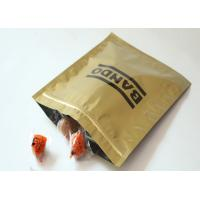 Quality Glossy 3 Side Seal Plastic Pouch Packaging / Aluminum Foil Packaging Bags for sale