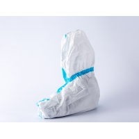 Quality JR Disposable Shoe Covers Isolation ODM PE With Elastic for sale