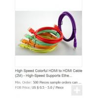 Quality High Speed Colorful HDMI to HDMI Cable (2M) - High-Speed Supports Ethernet, 3D and Audio R for sale