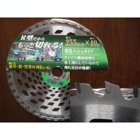 China 255mm 40P  Carbide Tipped Brush Cutter Blade ,  Grass Cutting Blades For Industrial on sale