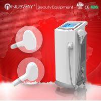 Quality Optional output power diode laser hair removal machine with sapphire contact cooling treat for sale
