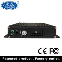 Quality 720P/960H/D1/CIF Vehicle Mobile DVR With High Resolution Cameras And GPS for sale