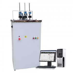 Quality Computer control HDT heat deformation vicat softening temperature testing machine for sale