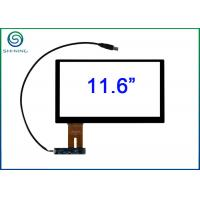 Quality G + G Capacitive Touchscreen Panel For Testing Machines , 10 Touch Point for sale