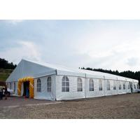 Aluminum Frame Material Outdoor Wedding Canopy Tent With Lining And Curtain