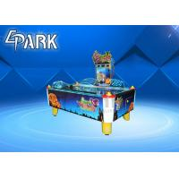 Quality 220V Coin Operated Arcade Machines  ,  Automatic Irregular Out Balls Wrist Shot Air Hockey Table for sale