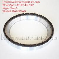 Quality back grinding wheels are used for the thinning and fine grinding of the silicon wafer miya@moresuperhard.com for sale
