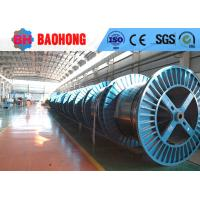 Quality Electric Steel Cable Drum , Fiber Wire Rope Reeling Drums Long Working Life for sale