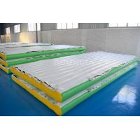 Buy cheap 0.9mm PVC Tarpaulin Inflatable Water Floating Platform For Water Park from wholesalers