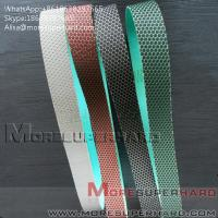Quality Flexible Diamond Belts Diamond sand belt for polishing and grinding Alisa@moresuperhard.com for sale