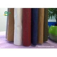 China Natural Fibrous Pulp Recyclable Kraft Paper / White Kraft Paper Roll on sale