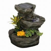 Quality Latest Design Solar Fountain, Used in Garden, Home, Park, Cafe and Hall for Decoration for sale