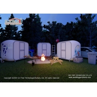 Buy cheap Waterproof Modular Portable Shell Glamping Man Cave Hotel Tents for Resort, from wholesalers