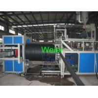 Quality Hollow Wall Steel Winding HDPE Pipe Extrusion Line For Large Diameter Pipe for sale