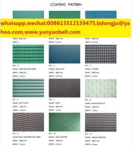 Quality Grass PVC Conveyor Belt Green Rubber Belt PVC Grip Top Conveyor Belt for sale