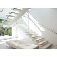 China tempered glass stairs grill design with tempered glass balustrade on sale