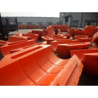 Quality High Quality Marine Plastic 12 inch Foam Rubber Buoy for Floating Pipes and dredging pipe for sale