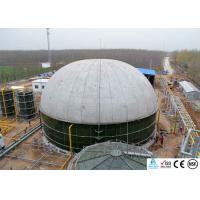 Quality Anaerobic Biogas Digester , Biogas Storage Tank With Three Phase Separator for sale