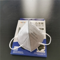 Buy cheap BFE 97% Earloop Graphene Nonwoven KN95 Respirator Mask from wholesalers
