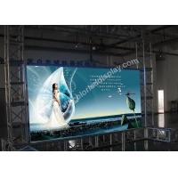 Quality Advertising P7.62 Full color LED display / indoor led screen with VMS Video Processor for sale