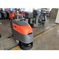 Quality Small Square Brick Floor Cleaning Machines Commercial Floor Scrubber for sale