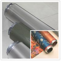 Buy cheap Fabric Nickel Screen Accurate Textile Rotary Screen Printing 195M from wholesalers