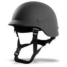 Level Two Bullet Proof Helmet, Four Point Type Bullet Resistant Helmet