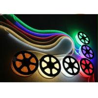 China RGB Driverless High Voltage LED Strip Light , RoHS Full Color Changing LED Strip on sale