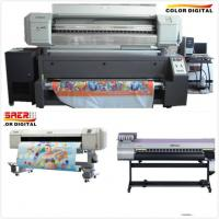 Quality Polyester Textile Mutoh Sublimation Printer Inkjet Printer Roll To Roll Dual CMYK Color for sale