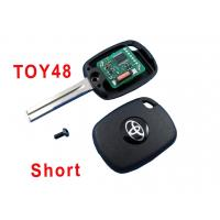 Quality Automobile Toyota 48 Car Key Shell Electronic 4c Copy Chip Key for sale