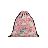 Quality Canvas Drawstring Bag Backpack Embroidery Printing With Your Design For Sale for sale