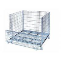 Quality Metal containers stackable wire metal decorative metal containers for sale