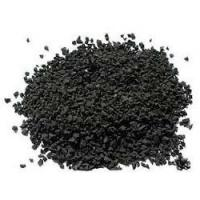 Buy cheap Durable Black Colored Rubber Granules For Playground Abrasive Resistance from wholesalers