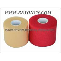Quality PU Breathable Porous No Adhesive Sports Pre Wrap Foam Underwrap To Protect Skin for sale