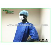 Quality Non Stimulating Nonwoven Disposable Hospital Gowns With Waist Ties for sale