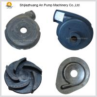 Quality Centrifugal Rubber Material Pump Parts for sale
