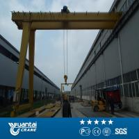 Quality The end of 2015 Large Discount Yuantai Semi Gantry Crane for sale