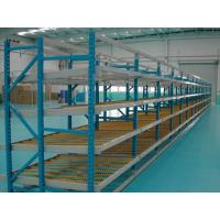 Quality Durable customized Carton flow rack , aluminum alloy roller storage racking system for sale