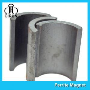 Industrial Ferrite Arc Magnet For Treadmill Motor / Water Pumps / Dc Motor