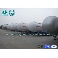 Buy Heavy Duty Tank LPG Semi Trailer For Gas Delivery Reliable Structure at wholesale prices