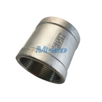 Quality ASTM A351 Casting Pipe Fittings Stainless Steel Coupling 1'' 150 BSP/NPT for sale