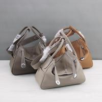 Quality Factory direct OEM made high quality 30cm 26cm lychee leather bags designer hobo bags M-G02-23 for sale
