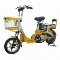 Buy Electric Bike with 48V/250W Motor, 48V/10Ah Lead-acid Battery, 25kph Maximum Speed at wholesale prices