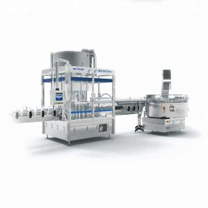 Quality 84 Disinfectant Bottle Filling And Capping Machine for sale